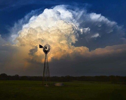Texas landscape after storm May 26 2015.