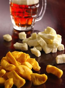 Wisconsin Cheese Curds ♥ Plain Curds For Quick Snacking Plus A Recipe For Fried Cheese Curds.  That's A Special Treat,