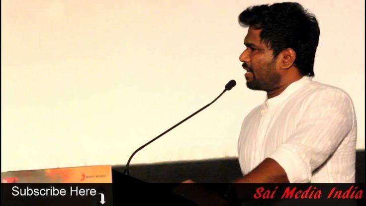 Director Jeeva Shankar speaks at Amara Kaaviyam Audio Launch