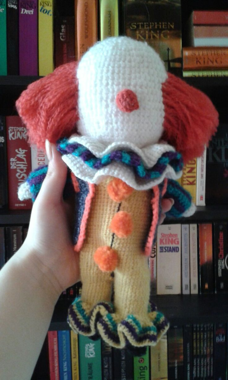 migliori idee su pennywise the dancing clown su i made a little pennywise the dancing clown stephen kings it