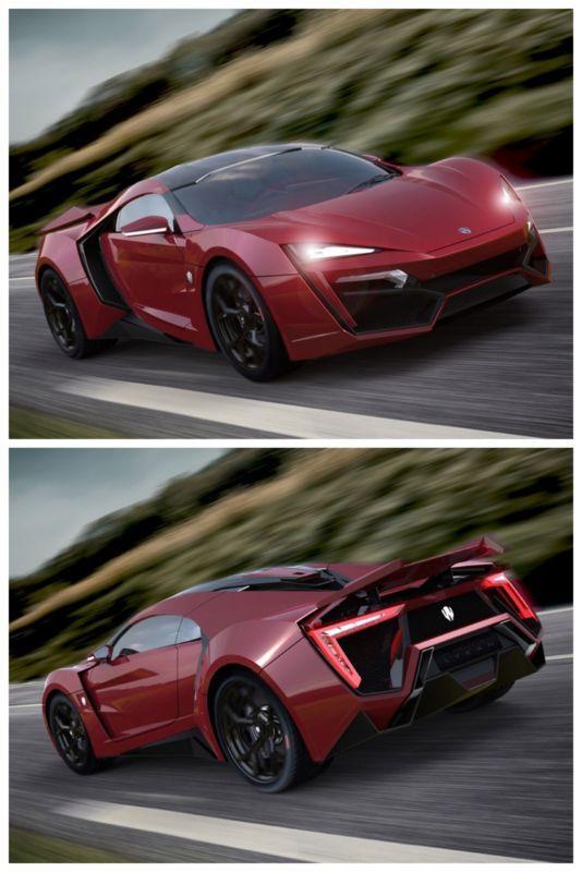 Que súper auto el Lykan HyperSport!!! Toda una bestia jajaja yo quiero uno!!!