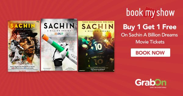 """'Sachin, Sachin' will reverberate in my ears till I stop breathing."" #SachinSachin #CricketMeriJaan #Offer #ABillionDreams"