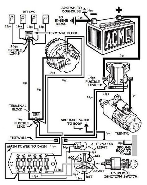 Make Your Power Circuit Work Like It Should Problems With A Weak Or Overloaded Electrical System Electric Car Engine Automotive Electrical Automotive Mechanic