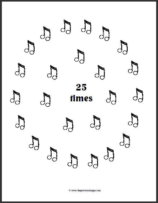best 25  piano practice chart ideas on pinterest