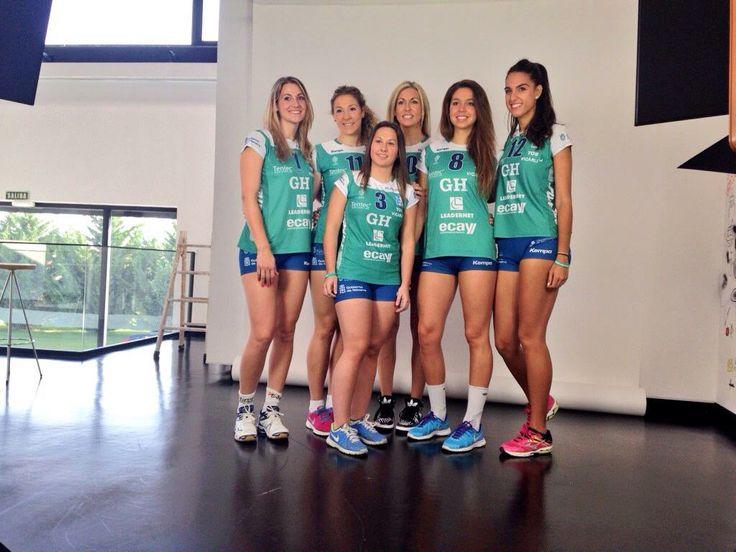 Sesión fotográfica para Las Chicas del Volley
