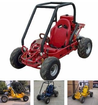 GK-14 90cc-89cc Single Seat Dune Buggy Go Kart 4 stroke air cooled By Roketa  (off-road use)