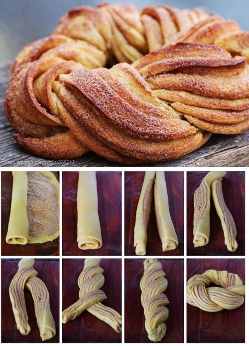 a play on traditional cinnamon roles