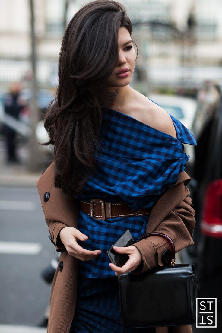 Street Style during Paris Fashion Week AW 16 17