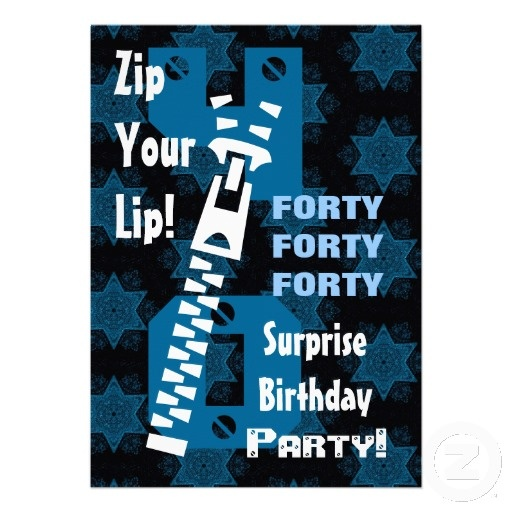 41 Best Images About 40th Birthday Party Invitations On