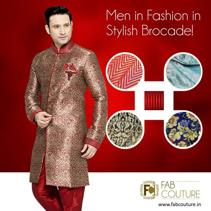 Stylish Brocade fabric in bright and vibrant colors is the perfect pick for weddings and functions. It gives you a vibrancy which helps you stand apart from the rest.  Get your stuff at : https://fabcouture.in/brocade.html #FabCouture  #Fabric #Fashion #TraditionalLook #ModernMen #MensFashion  #Brocade #WeddingFashion #IndianLook #affordablefashion #GreatDesignsStartwithGreatFabrics #ConfidentMen #StylishMen #VibrantColors #StandApartfromtheCrowd