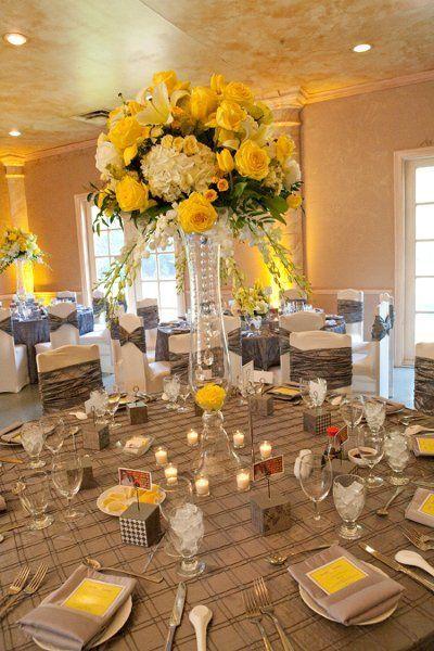 282 best black yellow weddings reception images on pinterest