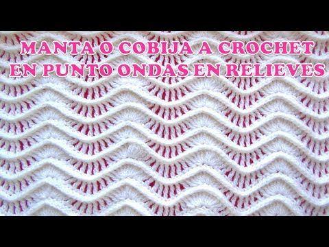 Punto entrelac trenzado (¡con trenzas gorditas!) a crochet / Tejiendo Perú - YouTube