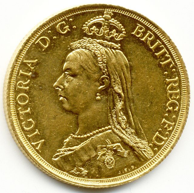 TWO POUNDS QUEEN VICTORIA GOLD SOVEREIGN COIN #Coins #GoldCoins #Silver #Coins #USCoins #TheHappyCoin