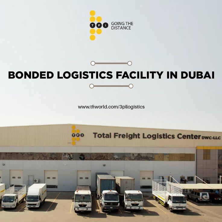 Bonded Facility at Total Freight International Dubai