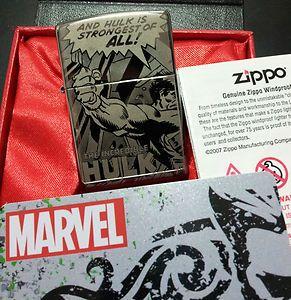 The Hulk Zippo Lighter