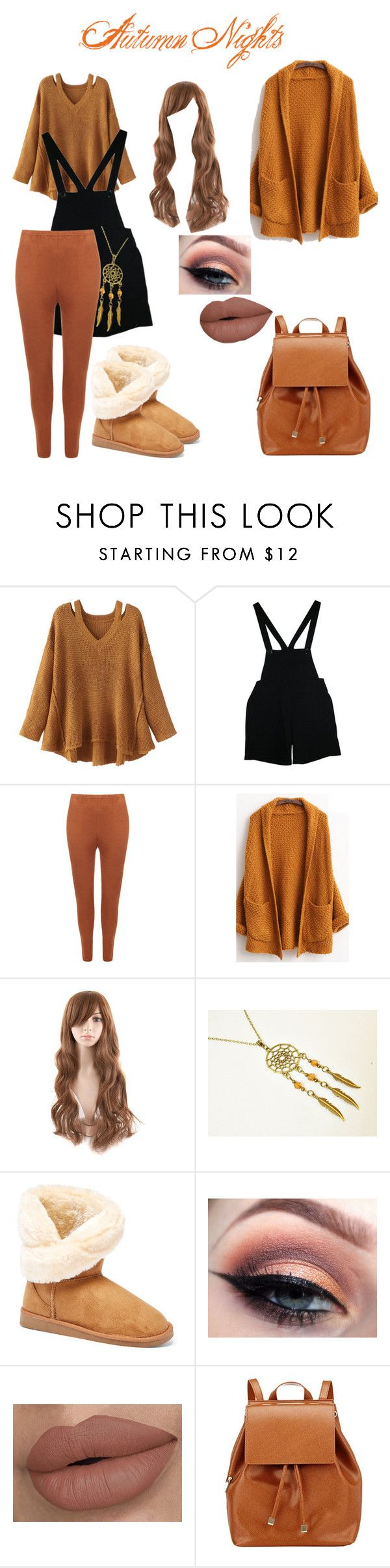 """""""Autumn Nights"""" by just-a-friendly-ghost ❤ liked on Polyvore featuring WithChic, American Apparel, WearAll, Serene Island and Barneys New York"""