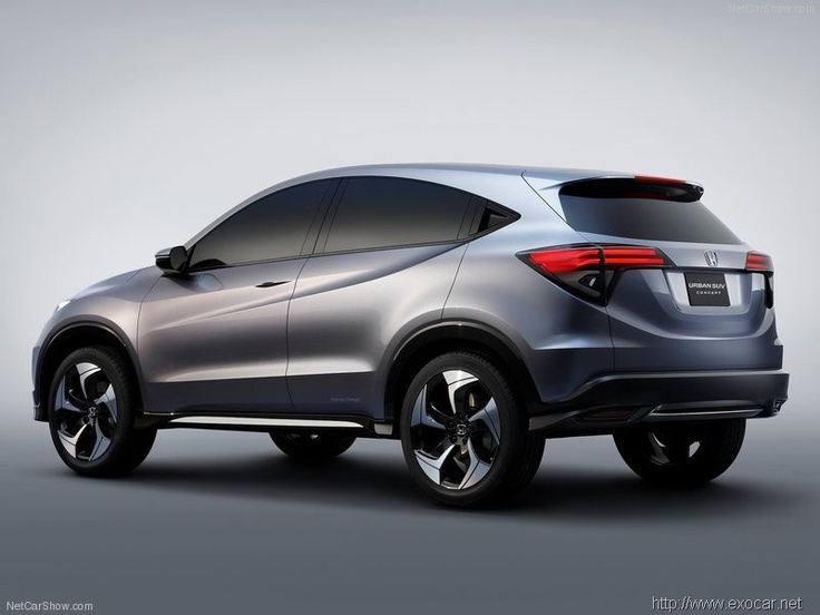 Exotic Cars Pictures >> Honda-Urban_SUV_Concept_2013_800x600_wallpaper_04 | exotic car gallery | Pinterest | Honda and Cars
