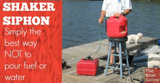 Five gallon fuel or water jugs get heavy to pour! Stop straining your back with these super-easy-to-use siphons.