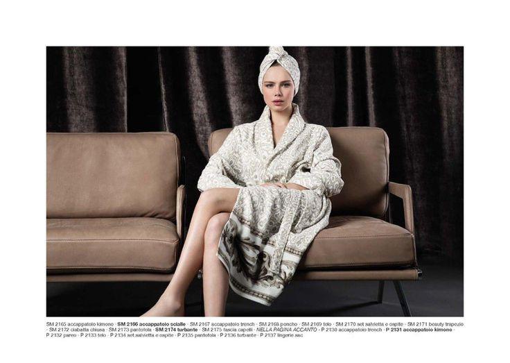 płaszcz kąpielowy, szlafrok Luna di Giorno w SHELEST na DaWanda.com