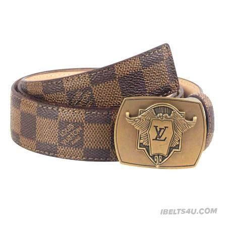 Stylish Louis Vuitton Men's Belts For Sale