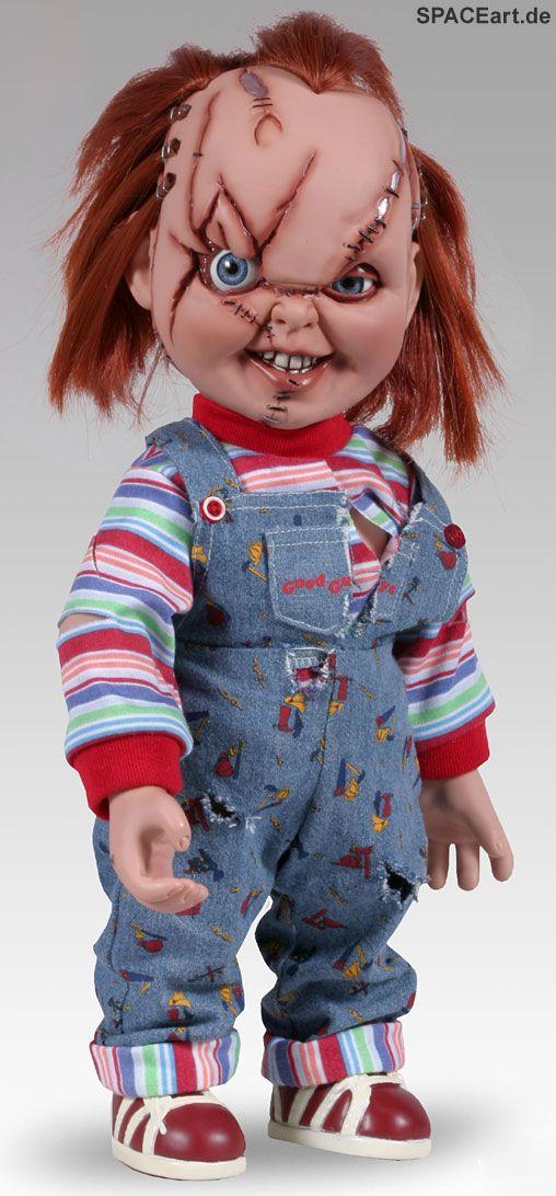 Chucky die Mörderpuppe: Scarred Chucky (Bride of Chucky), Fertig-Modell ... spaceart.de/produkte/chk001.php