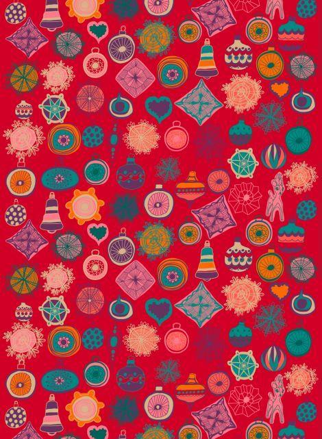 Rati riti ralla fabric by Marimekko (design by Teresa Moorhouse).