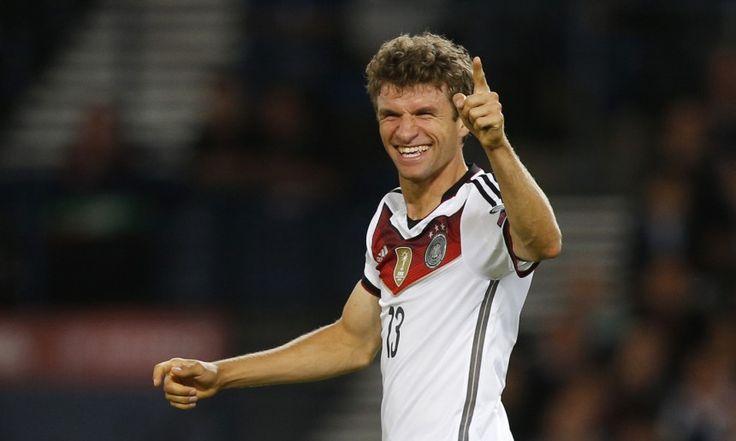 DFB-Spieler Thomas Müller Der die Bälle riecht