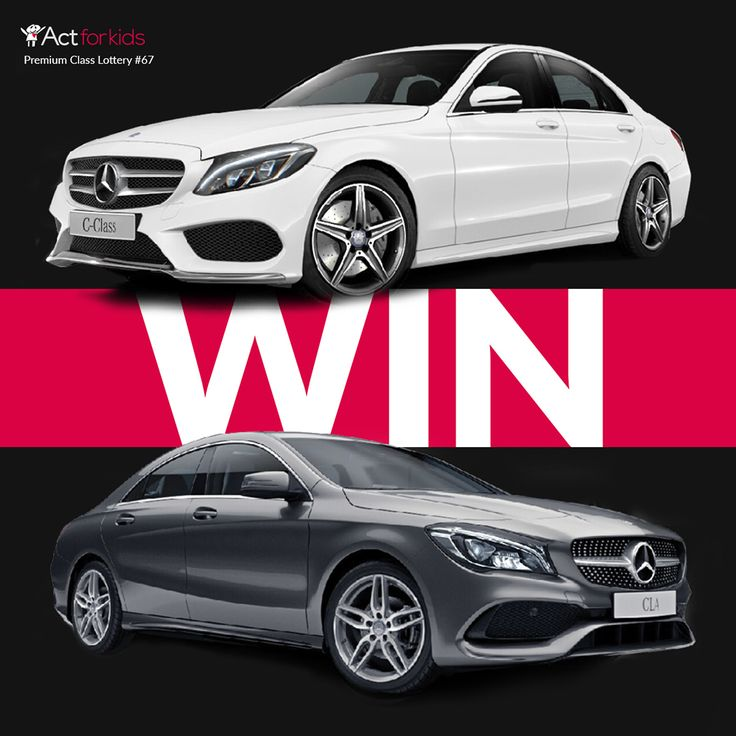 WIN a Mercedes CLA250! | Act for Kids lottery #67 - BUY Tickets ONLINE!