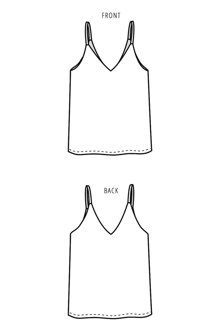 The Ogden Cami sewing pattern by True Bias is a partially