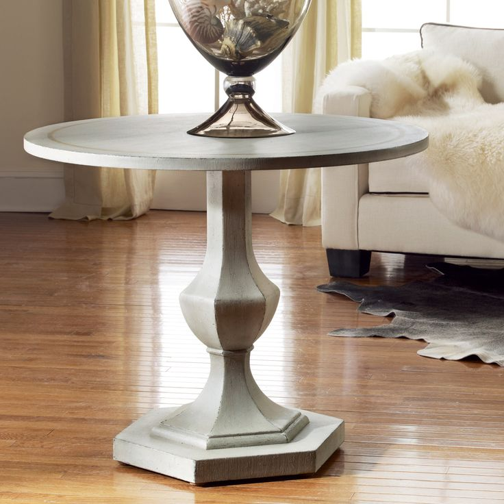 Delightful Modern History Antique Grey Italian Center Table Gold Leaf Accent On Top Entryway  Tables Foyer Table