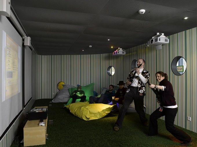 Das Google Bro In Zrich Workspace InspirationInterior Design