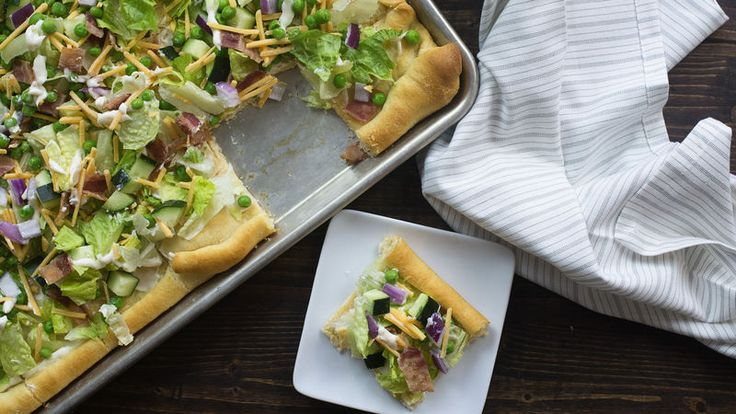 The only way to improve the classic seven-layer salad is to turn it into a handheld party food.