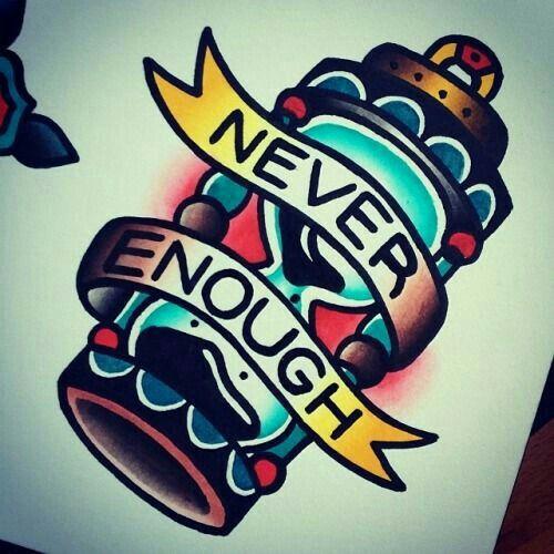 Never enough #time
