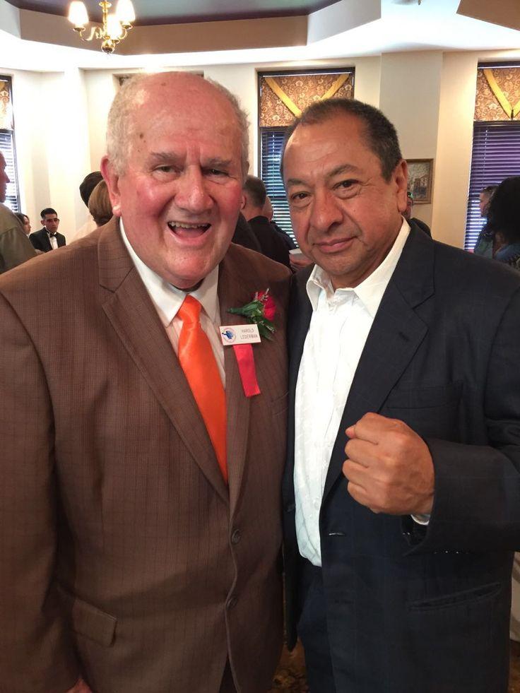 Harold Ledeman y Alberto Reyes, Hall of Fame 2016. #CletoReyes #HallOfFame #boxing