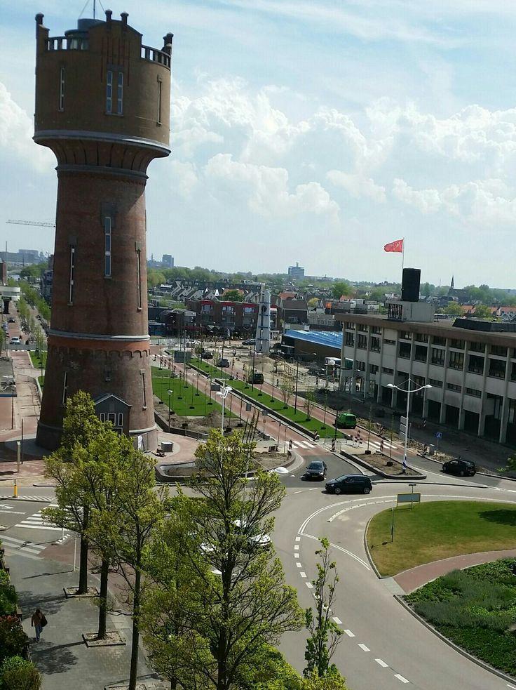Stations gebied in Den Helder..de watertoren!