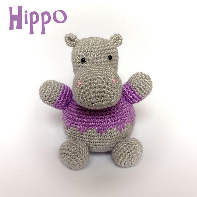 Free Amigurumi Hippo Pattern : Http ravelry patterns library hippo crochet
