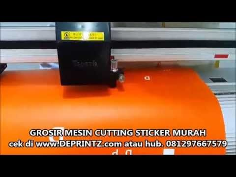 Tutorial Mesin Cutting Sticker.