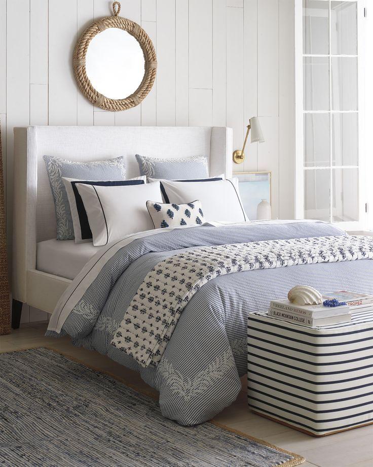 Westport Duvet Cover Coastal Bedrooms Coastal Master Bedroom Beach Cottage Decor