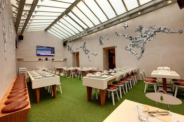 Some more details of #fashionfoodballer 's #interior by Emporio Orenga #restaurant #design #retail #furniture #industialdesign #interiordesign #florence #italy #football #italia #firenze