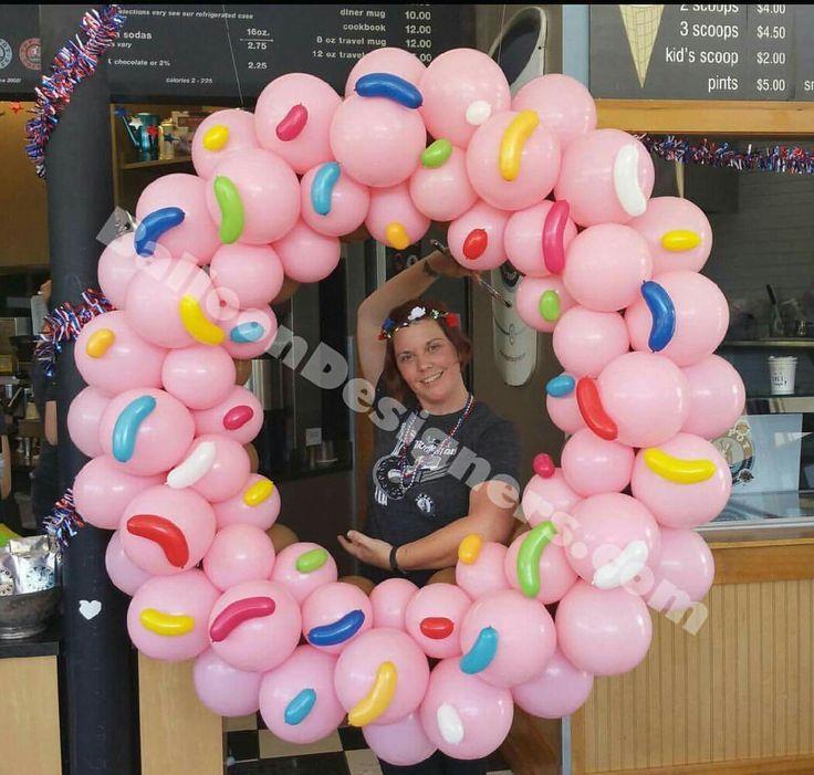 Balloon Frame Balloon Columns Balloon Balloon Balloon