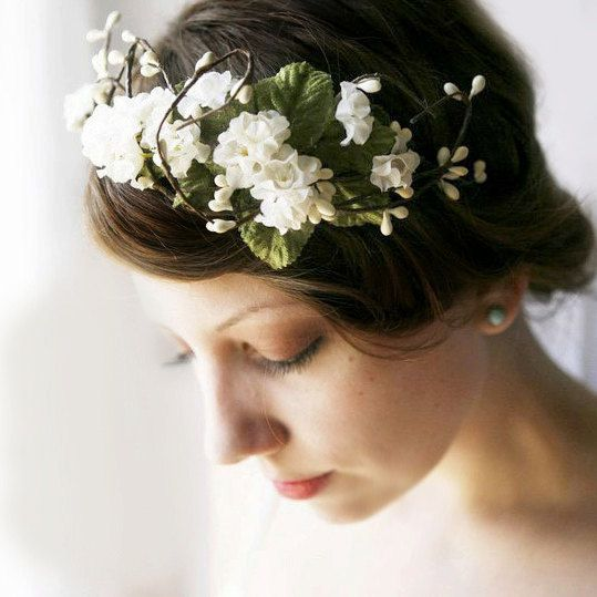 This Etsy seller has all kinds of wonderful vintage-y headbands and such.   Really quite lovely!