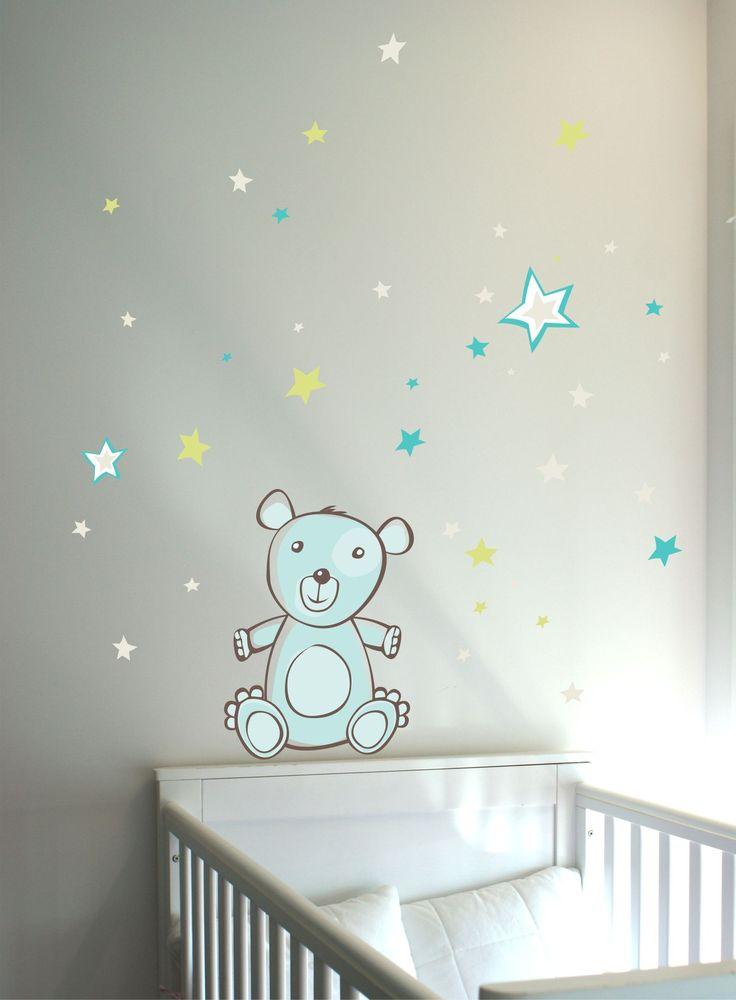 Desenho autocolante doce ursinho