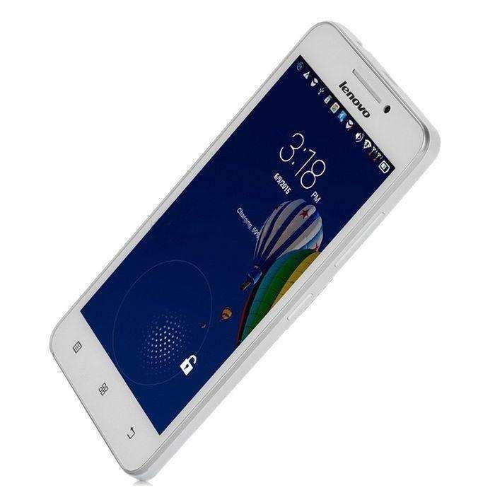 White Lenovo A3600d 512mb+4gb 4.5 Inch Android 4.4 Mtk6582 Quad Core 1.3ghz Network 4g Gps Dual Sim