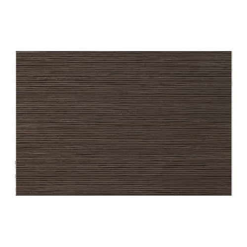 IKEA - BESTÅ TOFTA, Tür, Bambusm./Hochglanz/braun, 60x38 cm, , Durch seitlich und in der Höhe verstellbare Scharniere lassen sich die Türen perfekt justieren.Die Tür kann auch Platz sparend als Schiebetür montiert werden.Türen für geschlossene und staubfreie Aufbewahrung von DVDs, Zubehör usw.