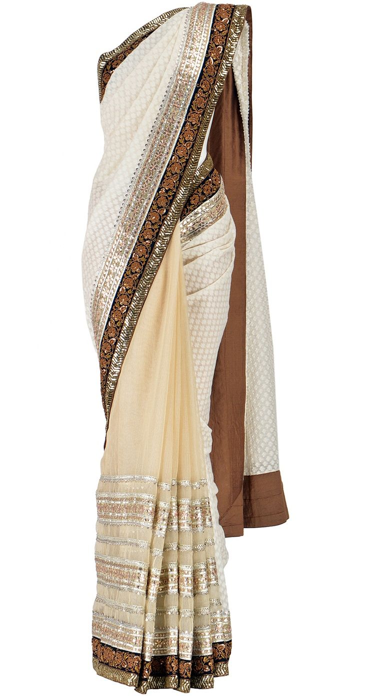 Sabyasachi sari- the kind of dress Inara wore on Firefly!  I need cool events to wear something like this.: