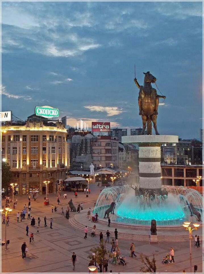 MACEDONIA ---------------- Skopje (my step-grandparents were born here, so i hope to spend 2 or 3 months here