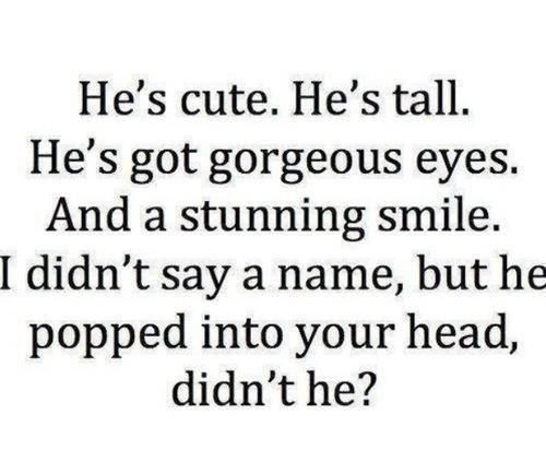 Plot Twist: the guy you like is shorter than you and you sat there confused. You know it's happened to someone.