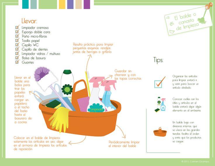 El canasto de limpieza. Capítulo 2 - Limpieza