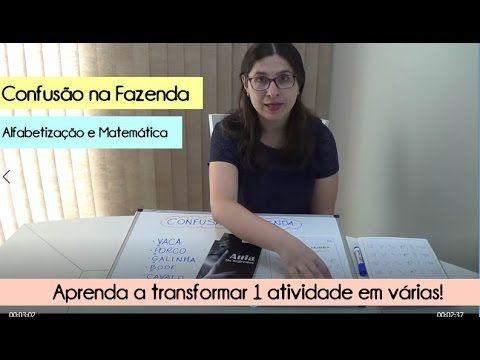 (53) Alfabetização e Matemática - CONFUSÃO NA FAZENDA - YouTube