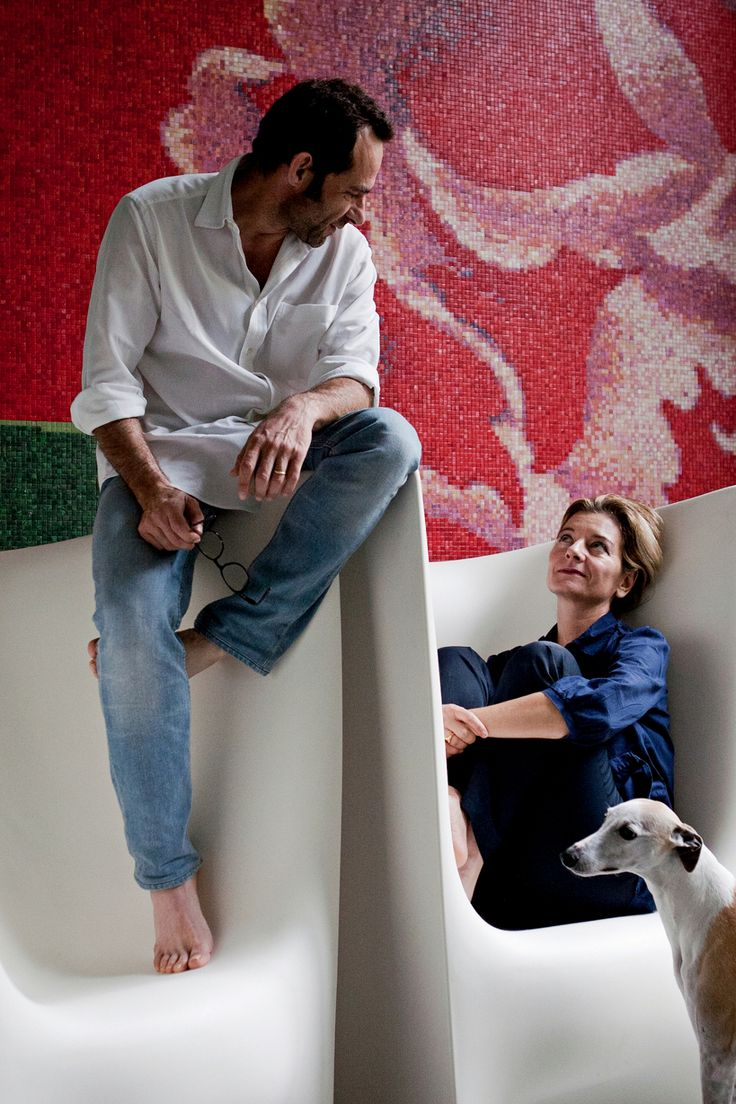 Ludovica + Roberto #Palomba on Plie' designed for #Driade | #design | photo by Francesco Bolis